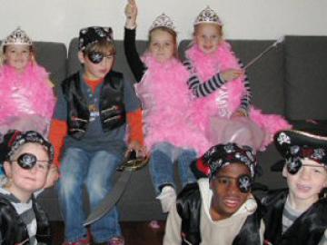 Themakist Kinderfeest Combi Prinses Piraat Kids Fun