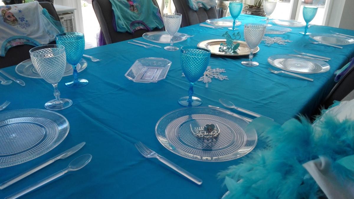 Bedwelming Themakist kinderfeest Frozen » Kids & Fun &UH01