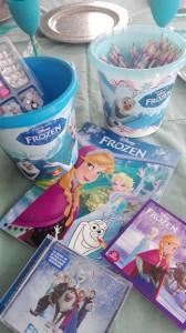 Frozen spelmateriaal