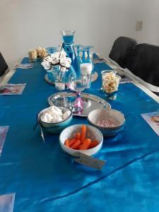 Frozen gedekte tafel