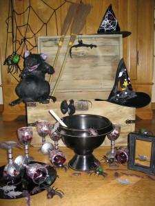 heksenfeest spullen