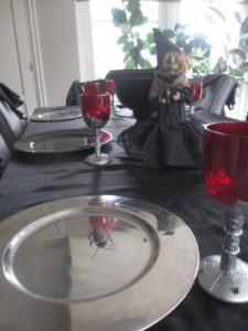 tafel heksenfeest