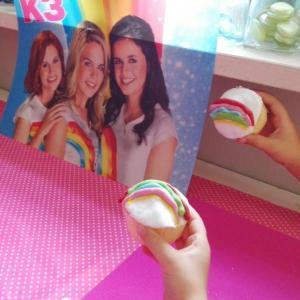 K3 cupcake versieren (3)