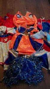 3 cheerleader jurkjes