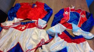 2 cheerleader jurkjes