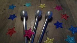 3 microfoons