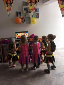 dansende K3 disco kids