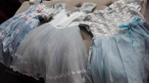 blauwe prinsessen jurkjes