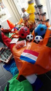 spullen voetbalfeest