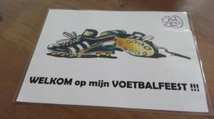 welkom voetbalfeest