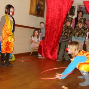 een circus-act