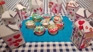 cupcake met doosje