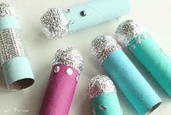 microfoons-knutselen-van-keukenrollen
