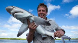freek met haai