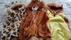 3 pakjes jungle leeuw