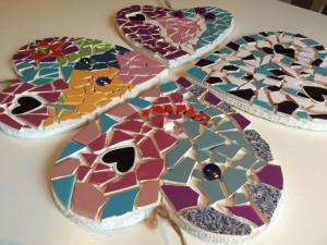 mozaieken kinderfeestje hangend hartje (15)