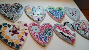 hartjes mozaiek