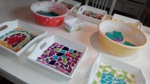 mozaieken kinderfeestje dienblaadjes (2)