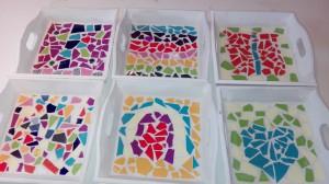 mozaieken kinderfeestje dienblaadjes (21)