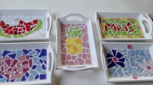dienblaadje mozaieken