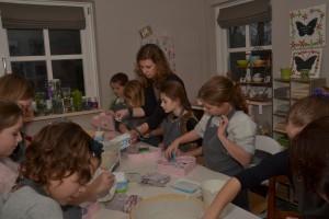 kinderfeestje mozaieken