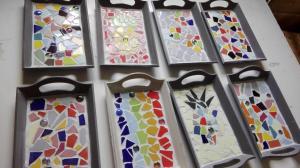 voorbeelden dienblaadjes mozaieken kinderfeestje (10)