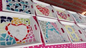 voorbeelden dienblaadjes mozaieken kinderfeestje (21)