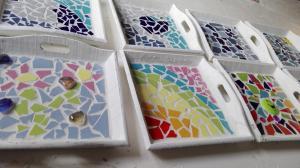 voorbeelden dienblaadjes mozaieken kinderfeestje (37)