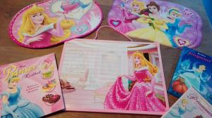 disney prinsessenfeest div. materialen