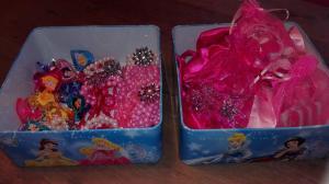 sieraden tasjes en haarspeldjes disney prinses