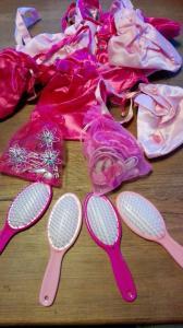 tasjes borstels voor mooie disney prinsessen