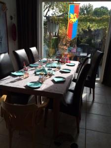 ridderfeest de tafel