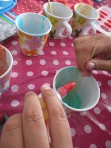 kleurstof druppelem